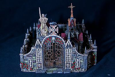 WARHAMMER SCENERY GARDEN OF MORR PAINTED - Dipinto