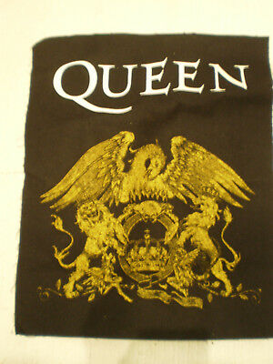 Large Cloth Queen Badge