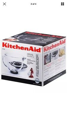 KitchenAid Glass Measuring Bowl Jug Accessory for Mixer 4.8 L - CLEAR-BRAND NEW!