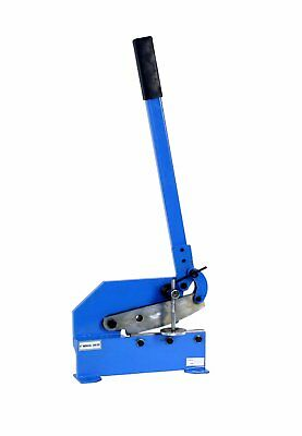 """Erie Tools® 8"""" Benchtop Manual Plate Shear Slices Sheet Metal, Plate, and Rebar"""