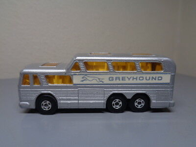 MATCHBOX LESNEY SUPERFAST No 66A VINTAGE GREYHOUND BUS NMINT CONDITION