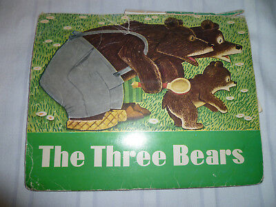 The Three Bears Pop up Book 1977 Tolstoy Vintage Russian Folk Tale