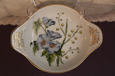 Spode Stafford Flowers Lida & Acacia Small Serving Bowl With Handles