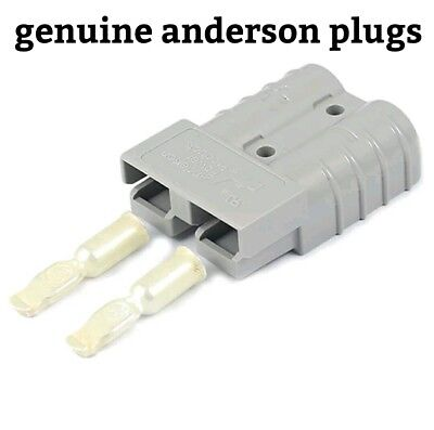 2 x GENUINE ANDERSON PLUGS  50 AMP