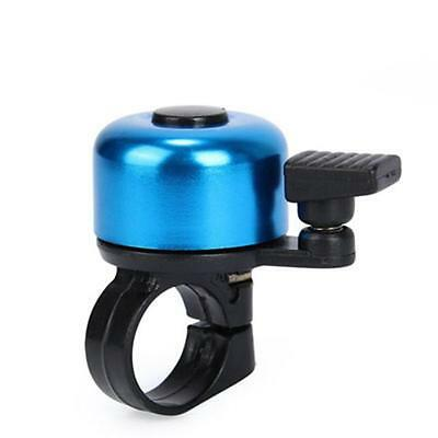 For Safety Cycling Bicycle Handlebar Metal Ring Black Bike Bell Horn Sound AG67