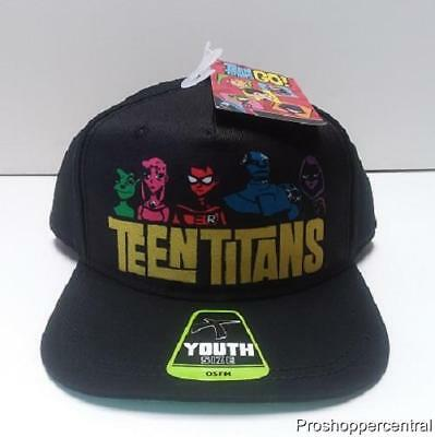 NEW Bioworld Teen Titans Go! Snapback Youth Hat - One Size Fits Most