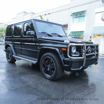 2015 Mercedes-Benz G-Class 4MATIC 4dr G 63 AMG ONE OWNER CARFAX CERTIFIED. LIKE NEW. FULLY LOADED. . NATIONWIDE SHIPPING