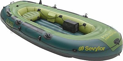 inflatable boat sevylor fish hunter 360 6 person