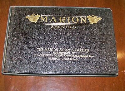 1909 Marion Steam Shovel Co. Catalog Steam Shovels  Mint/ in org box