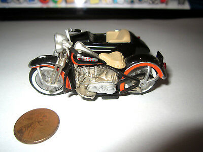 1999 Hwcc 1948 Harley Davidson Panhead Motorcycle W/ Side Car