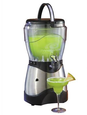 Margarita Maker Frozen Drink Machine Slushy Alcohol Electric Stainless Steel New