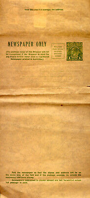 GEORGE V NEWSPAPER WRAPPER with 1d STAMP MINT....and LOW RESERVE