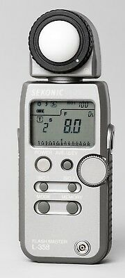 Sekonic L-358 Flash Master Light Meter in Excellent Condition
