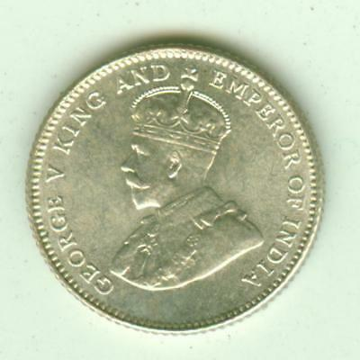 Straits Settlements Silver Uncirculated 1927 10 Cents-Lot E9