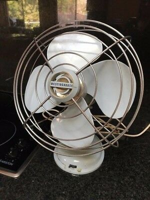 Fan - Westinghouse -  STUNNING Retro/Vintage - 3 Speed (Blue) Works Perfectly