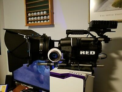 Used RED ONE 4K Digital Camera w/ loads of extras (576 hours)
