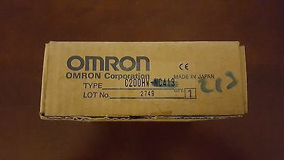 **NEW**  Omron C200HW-NC413 Position Control Unit PLC Module Stepper