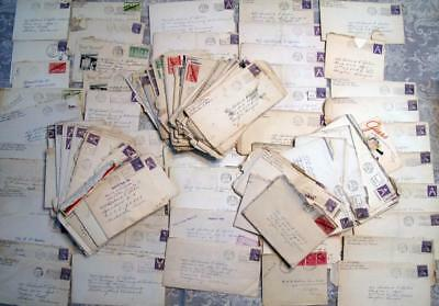 WW2 Pilot Archive Collection of 150+ Letters Covers to Richard F Robie 1919-1997