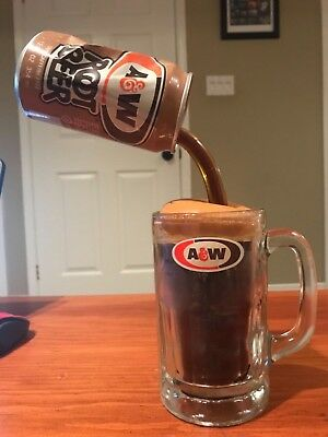 Vintage Extremely Rare 1 of kind A&W Rootbeer Mug promo Advertising Piece