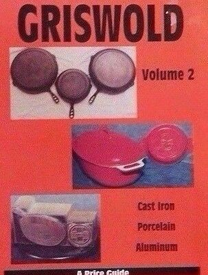 GRISWOLD CAST-IRON PRICE GUIDE COLLECTOR'S BOOK Pan Skillet ++