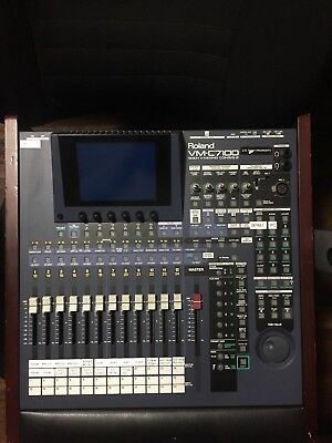 Roland Vm 7100 Motorized Faders Mixer, Mix Console, 94