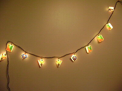 Coca Cola Decorative String Of 10 Lights