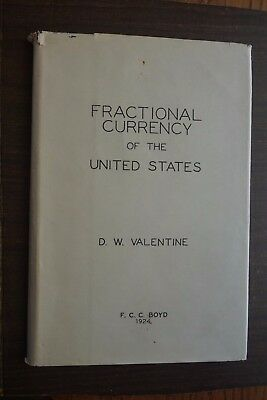Lot of 4 Fractional Currency & Coin Books 1924 Vol 1, Schultz Checklist L Glazer