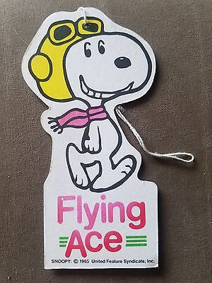 Vintage Peanuts Snoopy Flying Ace Auto Air Freshener 1965 Super rare!!