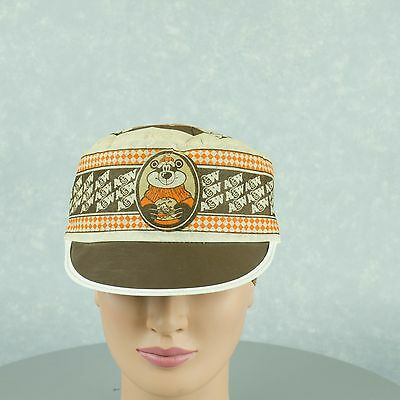 Vintage A&W Uniform  Paper Fabric Hat Hard to Find in This Condition