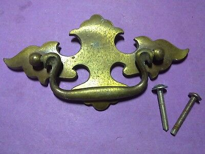 swing handle, brass, vintage (LL56)