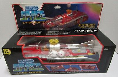 Vintage Battery Operated Space Ship ***new In Box***