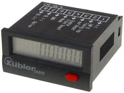 CODIX-LCP-1 Counter electronical working time Display LCD -10÷60°C KUBLER