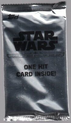 2017 Topps Star Wars Journey to the Last Jedi Guaranteed AUTOGRAPH Auto HOT PACK