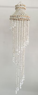 Shell Chandelier Small WHITE 500mm long