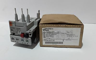 Sprecher + Schuh CT7N-23-C16 Thermal Overload Relay 11.3 – 16A - New Surplus ...