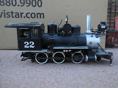 HOn3 BACHMANN NARROW GAUGE #22 POWERED STEAM LOCOMOTIVE