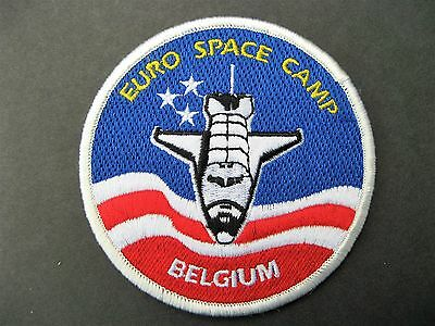 Euro Space Camp Belgium Nasa Embroidered Patch