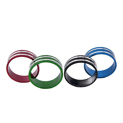 4/8pcs 10mm Fork Washer Stem Spacers Bicycle Headset Washer Raise Handlebar QW