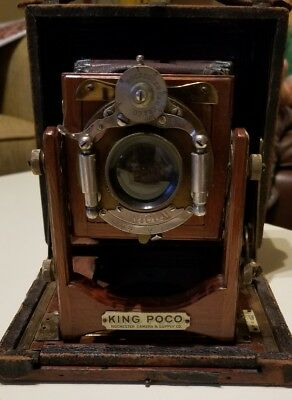 "Rochester Camera & Supply Co. 5x7  ""King Poco"" View Camera - Leather Bellows"