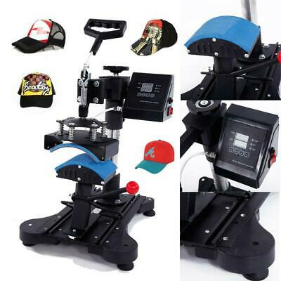 "Digital Hat Cap Heat Press Machine Transfer Sublimation Pattern Machine 6"" x 3"""
