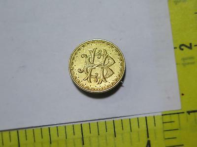 1871 Great Britain Gold Sovereign Victoria Head Love Token Coin Collection Lot