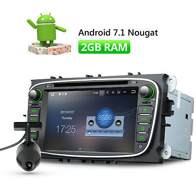 DVR Android 7.1 Car DVD GPS for Ford Focus Navigation Head Unit HDMI DAB+ CD