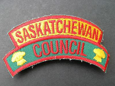 Boy Scouts Canada Saskatchewan Council Embroidered Patch Cubs