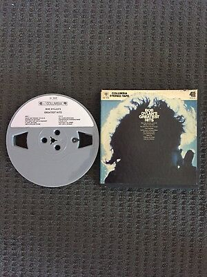 Bob Dylan's Greatest Hits Reel To Reel 3 3/4 IPS