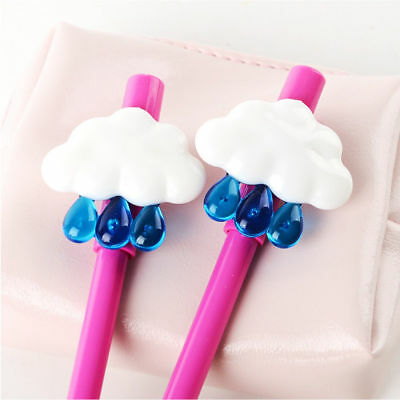 Cute Cloud Erasable Gel Pen Student Black Ink Stationery Office School Supplies