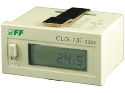 CLG-13T/230 Counter electronical working time Display LCD -10÷40°C F AND F