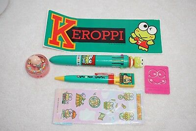 Vintage Sanrio lot Keroppi, Pochacco, Hello Kitty, Piyo anime many items
