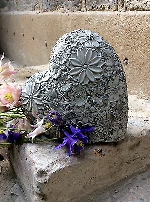 Unique Beautiful Stone Heart Wall Plaque . From The Designer Sius.