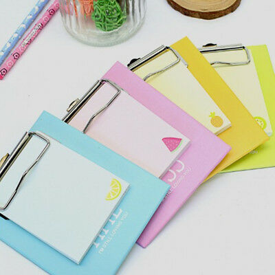 1xMini Clipboard Work Planner Diary Agenda Sticky Notes Post It Memo Notes pads