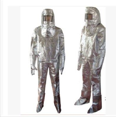 Thermal Radiation 1000 Degree Heat Resistant Aluminized Suit Fireproof ClothesPU